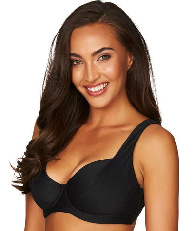 Sea Level Majorca DD-E Cup Underwire Bikini Top - Black