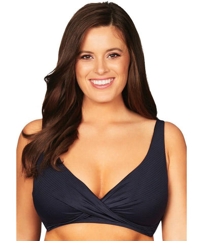 Sea Level Sunset Dreams Cross Front C-E Cup Bikini Top - Night Sky