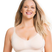 Sugar Candy Fuller Bust Seamless F-HH Cup Lounge Bra -  Nude