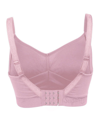 Sugar Candy Fuller Bust Seamless F-HH Cup Lounge Bra - Pink