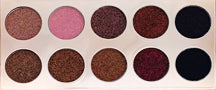 Shimmer 10 color eyeshadow palette