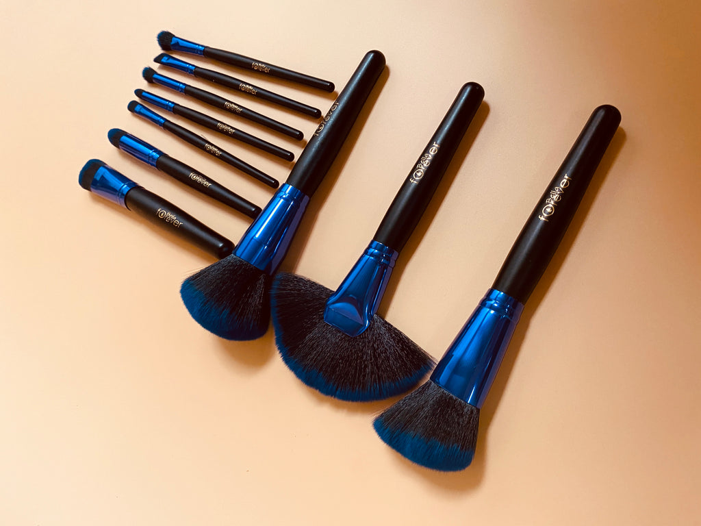 Blue Brush Sets 10 pcs