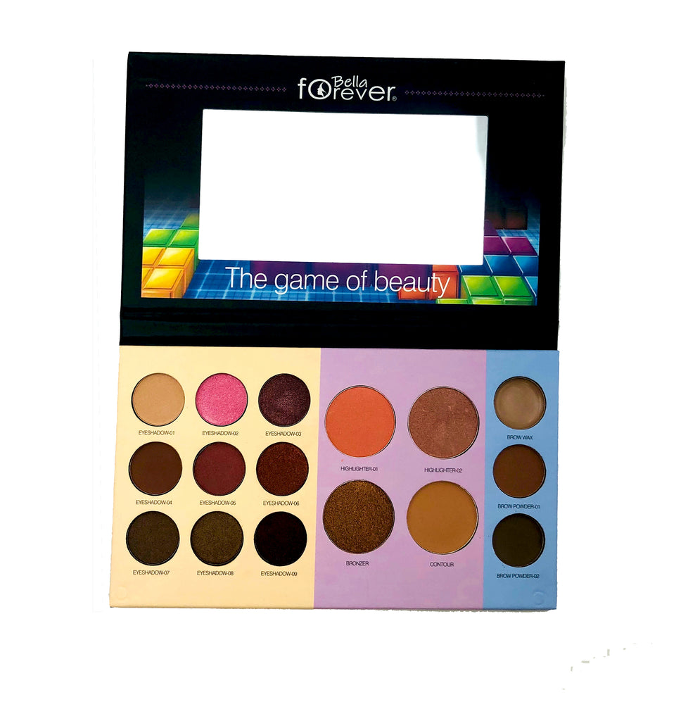 The game of beauty pallete