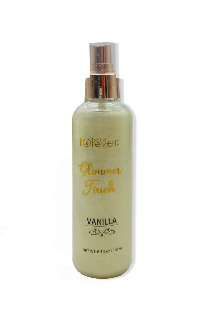 Vanilla Glimmer Touch Body Spray