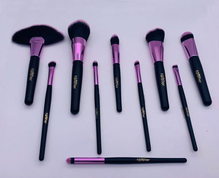 Pink Brush Sets 10 pcs