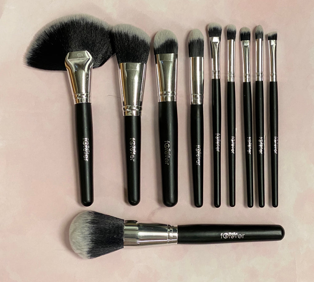 Silver Brush Sets 10 pcs