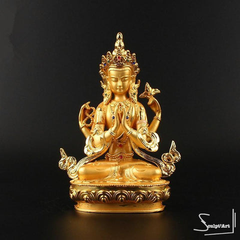 Statue Bouddha Guanyin - Image collection Statue Bouddha - Sculpt'Art