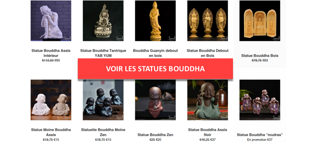 Collection Statue Bouddha
