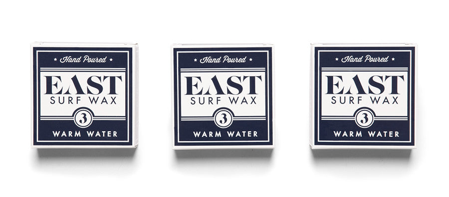 Organic Surf Wax - Pack of 3