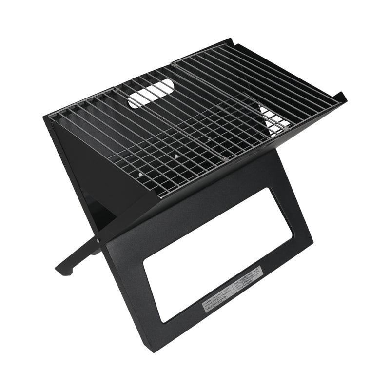 Portable BBQ Charcoal Grill Outdoor Camping Barbecue Picnic Foldable Steel Stove - Australian Offers Store