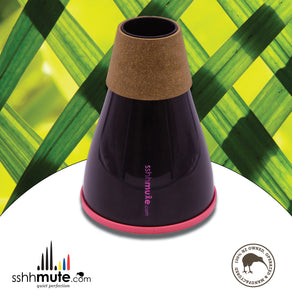 sshhmute Practice Mute for Tenor Horn - Limited Edition Pink Mute