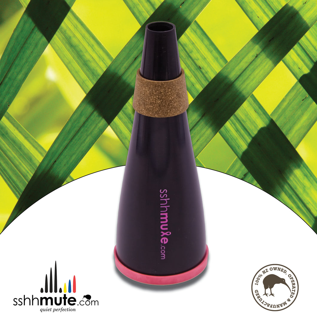 sshhmute Practice Mute for Trumpet & Cornet - Limited Edition Pink Mute