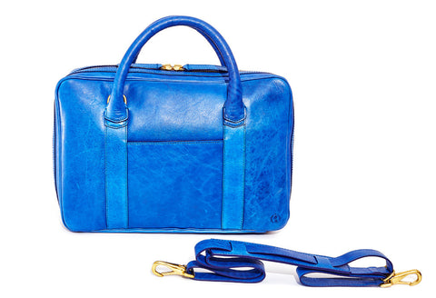 Azure Slim Briefcase
