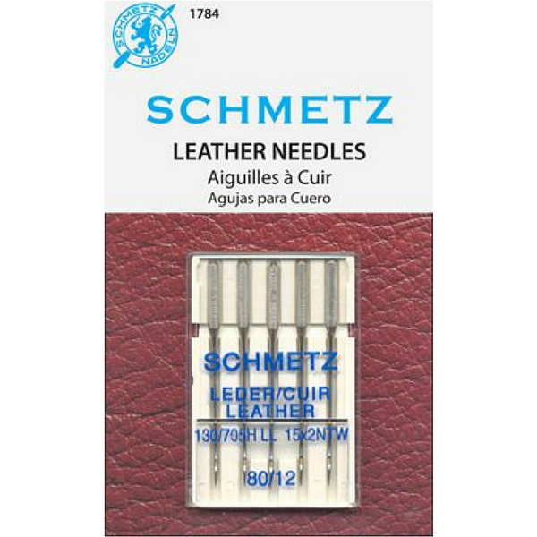Schmetz Leather Needles Size 80, 90, 100, 110