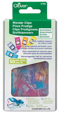Wonder clips Assorted Colors 10 pack or 50 pack