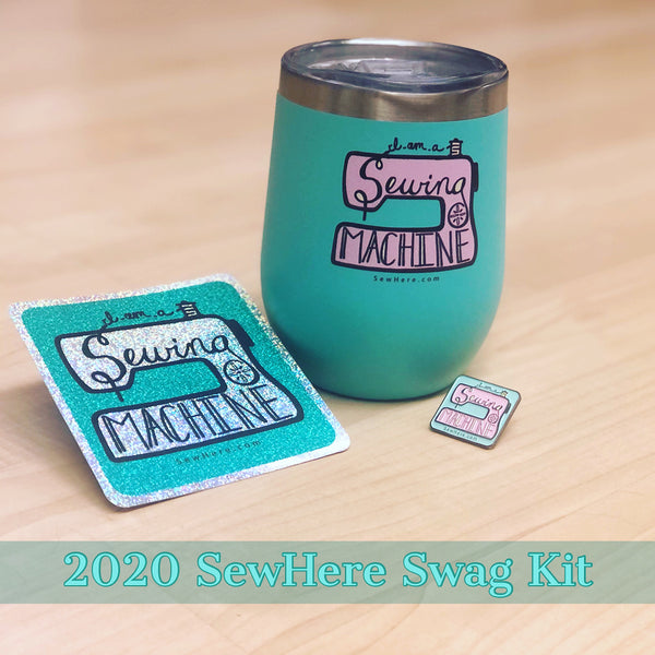 2020 SewHere Swag Mini Box