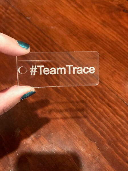 SewHere Keychain #TeamTrace