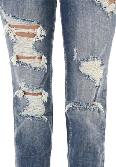 Judy Blue distressed boyfriend jean-