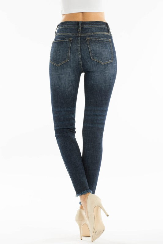 Kancan Skinny Distressed Bottom