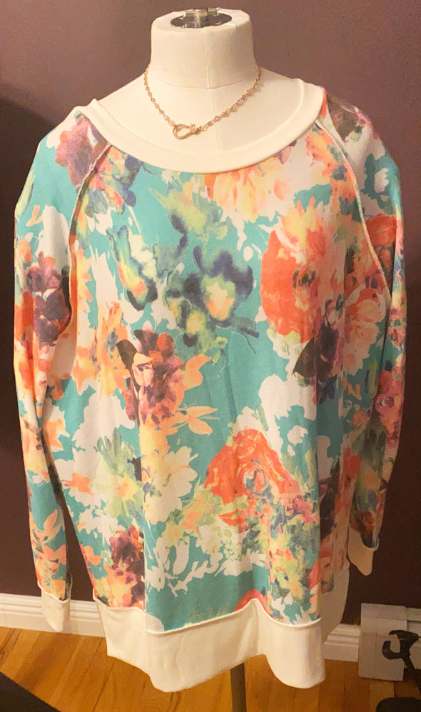 Honeyme Floral Top