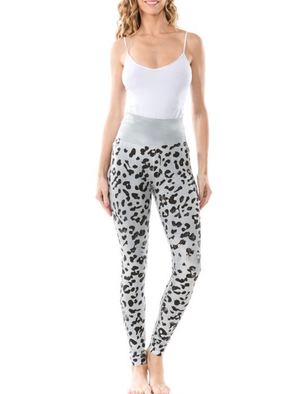 T Party Fold Over Leggings