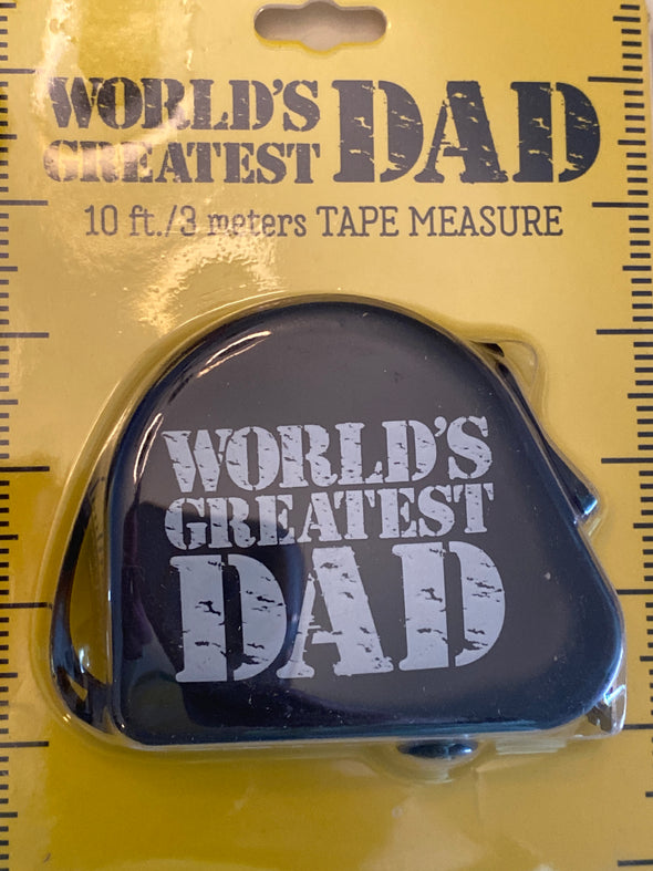 Dads Tape Measure