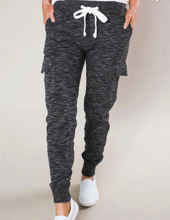 Joggers with Side Pockets