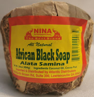 African Black Soap (Alata Samina) by Nina (100% natural)