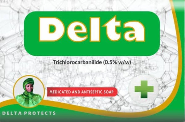 Delta medicated and antiseptic Soap by Orange Drugs