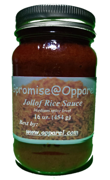 Jollof rice sauce by Gpromise@Opparel