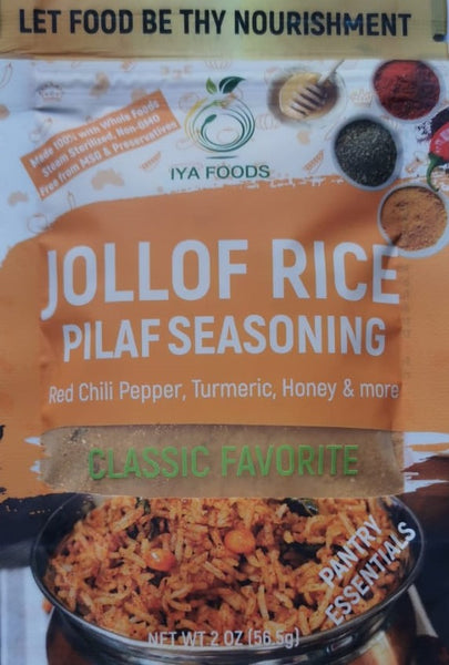 Jollof Rice Pilaf African Seasoning by Iyafoods
