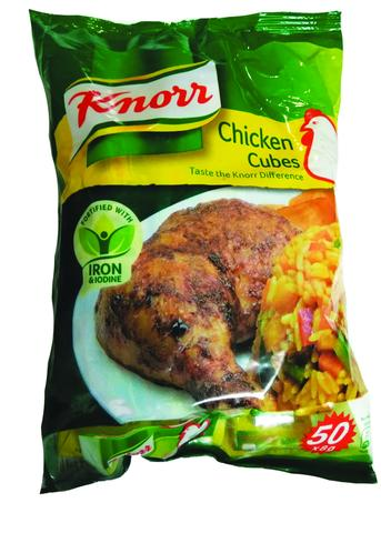 Knorr seasoning cubes by Unilever