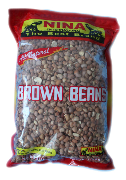 African (Brown , Red, Yellow and Oyin (Honey)) beans by Nina