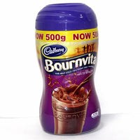 Bournvita by Cadbury.