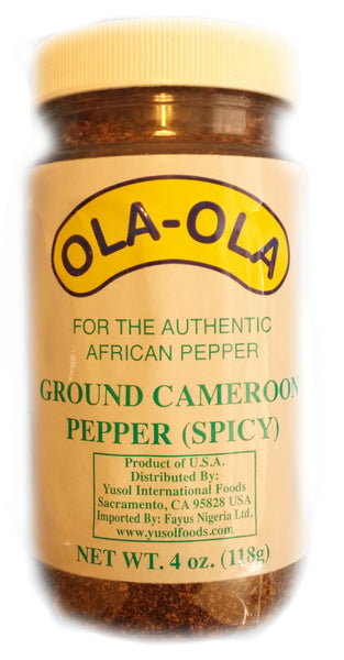 Cameroon pepper powder (Hot) by Ola-Ola