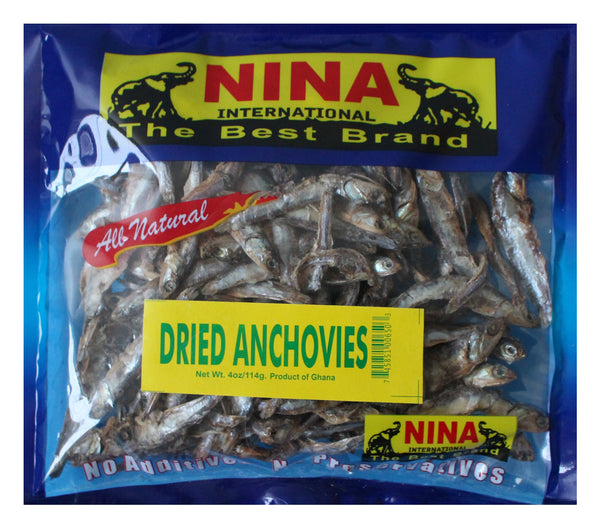 Dried Anchovies by Nina