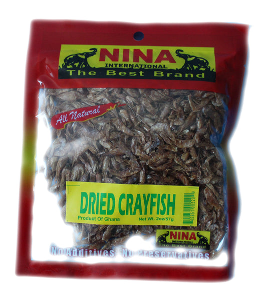 Dried Crayfish by Nina