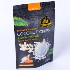 Coconut chips by Olu-Olu