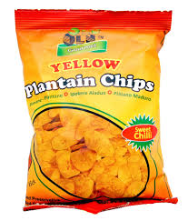Plantain chips by Olu-Olu