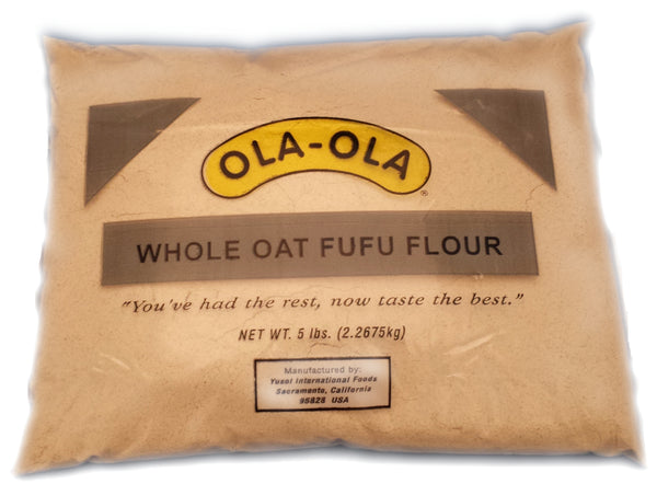 Whole oat fufu flour by Ola-Ola