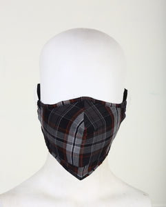Organic cotton Outdoor Face Mask ADULT Unisex- 3 layered