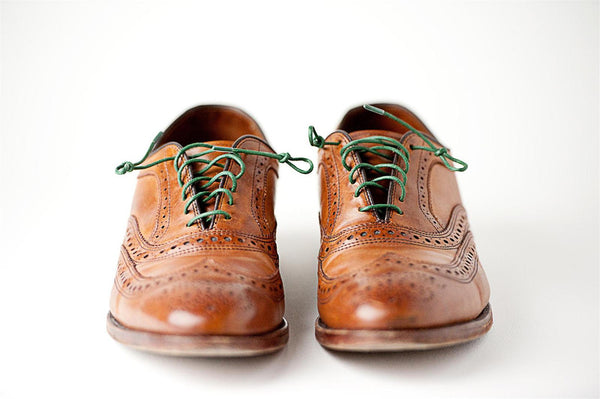 Contrasting Colored Shoelaces