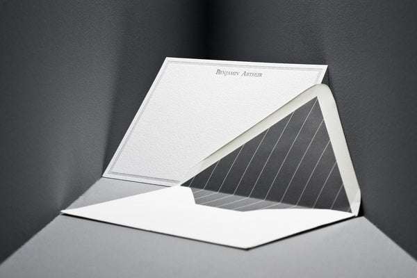 Bespoke Stationery - Savile Row