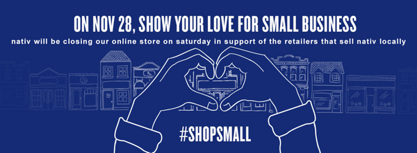 shop our retailers on saturday, not us