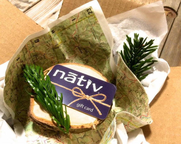 holiday giveaway: $200 nativ gift card