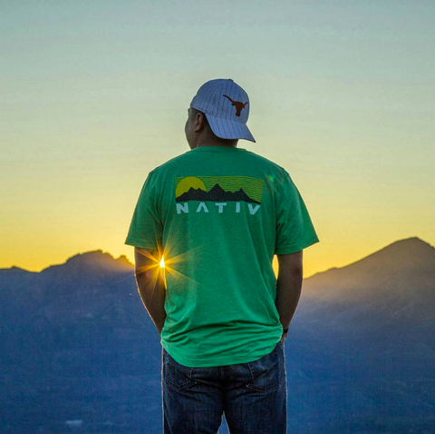 jeremy tryon in nativ teton tshirt