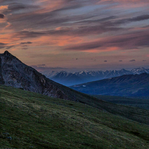 alaska mountain range by jeremy tryon