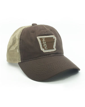 arkansas nativ brown trucker