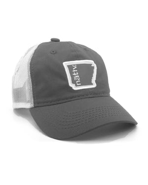 arkansas nativ grey trucker