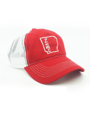 arkansas nativ red trucker